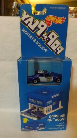 Hotwheels Pop N Play Building Set Police Station with Sherif