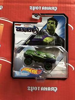 Hulk Avengers 2019 Hot Wheels Marvel Character Cars Mix K