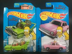 Hot Wheels HW City 2015 The Homer & The Simpsons Family Car