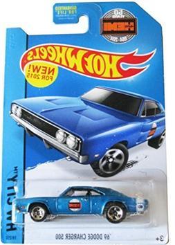 hot wheels hw city '69 dodge Charger 500 19/250 2015