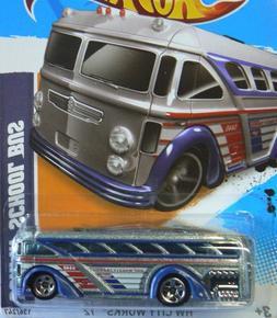Hot Wheels Hw City Works '12 Surfin' School Bus 2012 6/10 13
