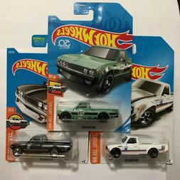 Hot Wheels HW Hot Trucks Datsun 620 - Green - Black - White