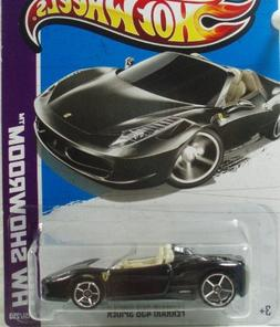 Hot Wheels Hw Showroom Ferrari 458 Spider 2013 on Card Varia