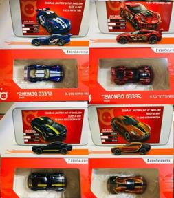 In Hand: Hot Wheels id Set Of 4 Exclusive Viper Corvette Ast