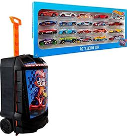 Bundle Includes 2 Items - Hot Wheels 20 Car Gift Pack  and H