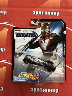Iron Man Avengers 2019 Hot Wheels Marvel Character Cars Mix