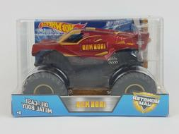 IRONMAN Monster Jam 1:24 diecast Metal Body HOT WHEELS Off-R