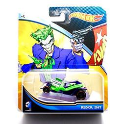 THE JOKER * DC COMICS * 1:64 Scale Hot Wheels Character Vehi