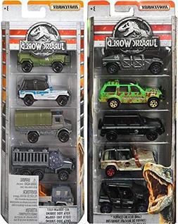 Jurassic Convoy All Terrain Fleet Jurassic Dinosaurs Cars Tr