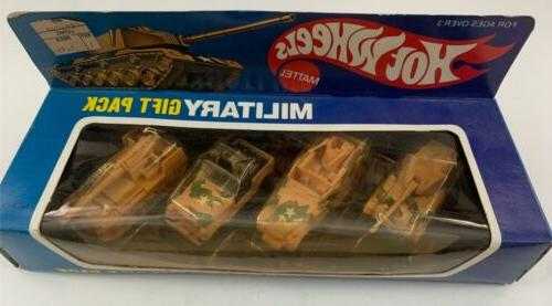 1983 military gift pack 4 combat vehicles