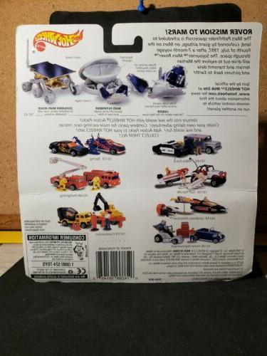 1997 Hot Wheels PACK ROVER