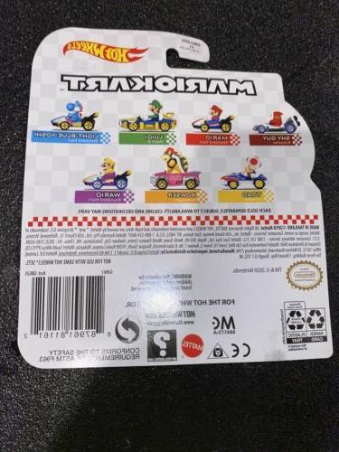 2 Hot Wheels Mariokart Shy B-Dasher 1/64