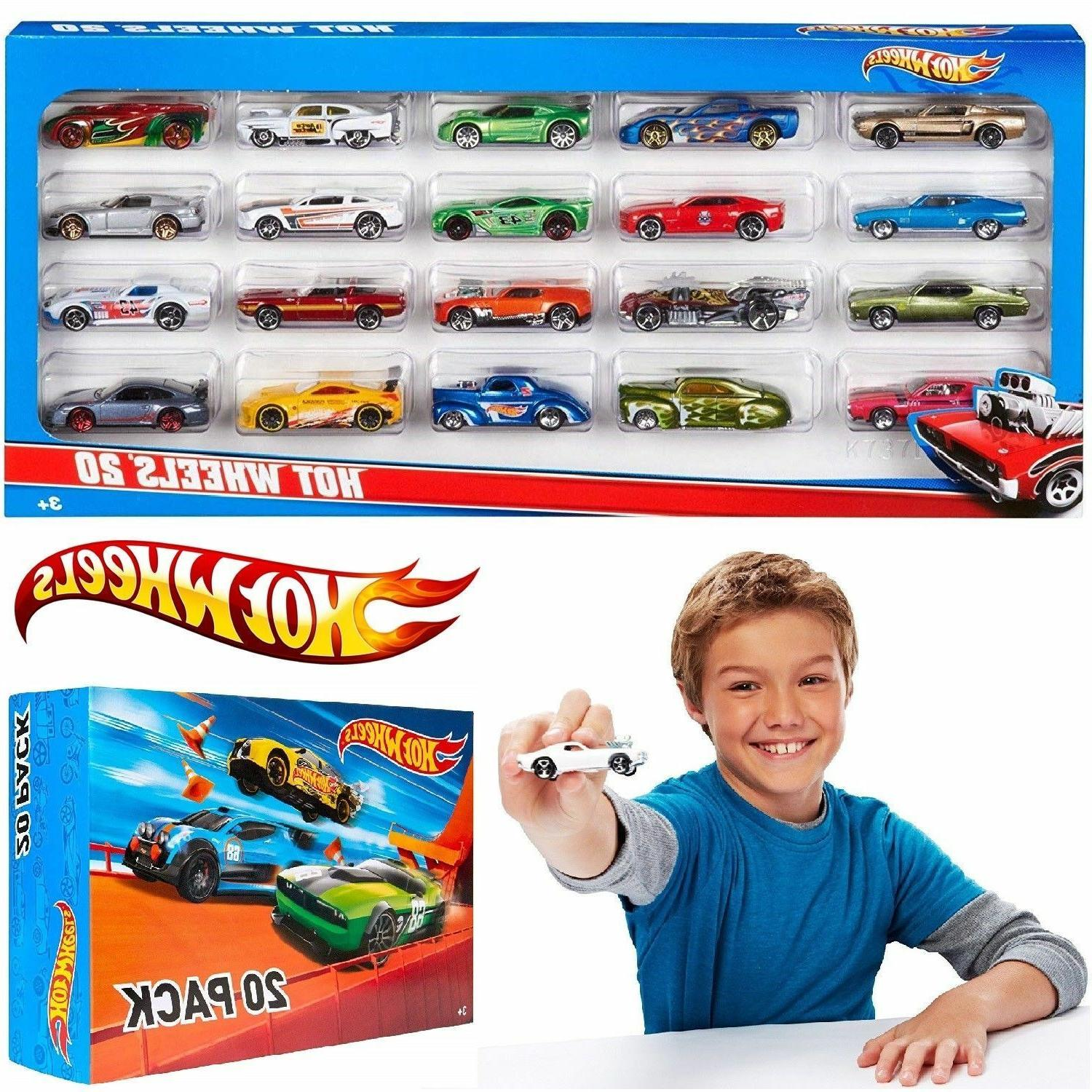 20 cars toys gift for kids track