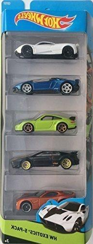 Hot Wheels 2015 HW Workshop HW Exotics 5-Pack