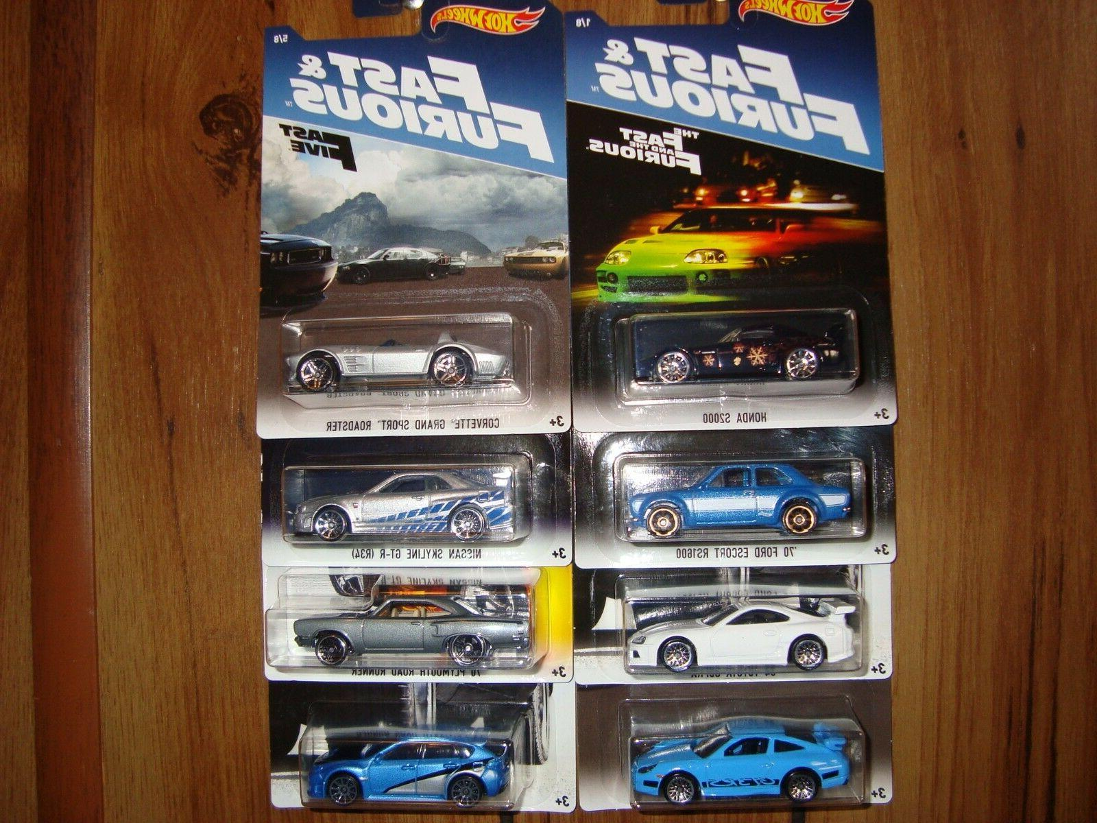 2017 fast and furious complete set of