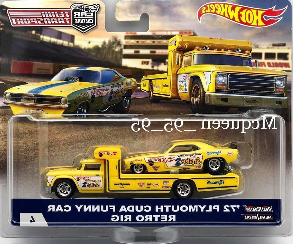 2018 car culture team transport 72 plymouth