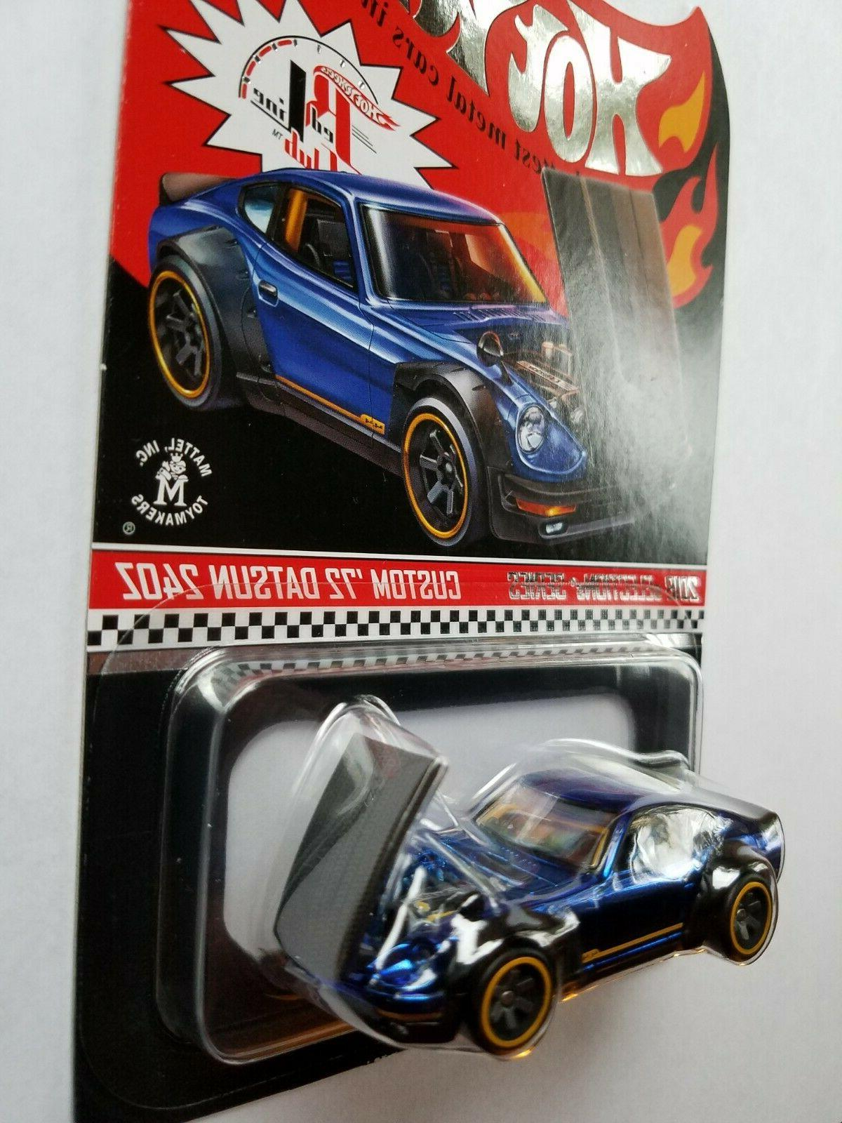 """2018 Hot Wheels Selections """"72 240Z FREE"""