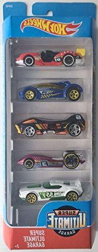 Hot Wheels 2018 Super Ultimate Garage 1:64 Scaled 5-Pack