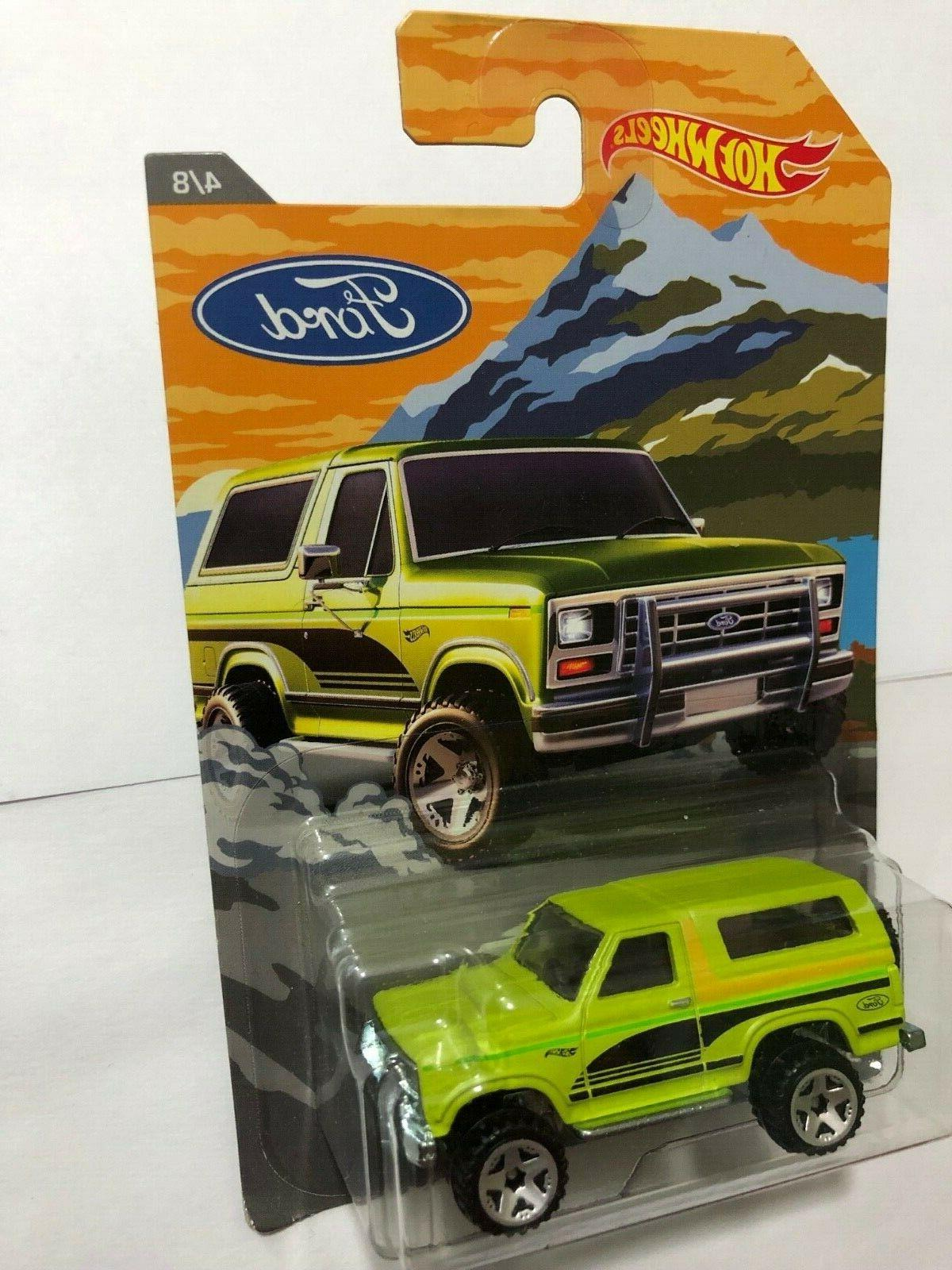 HOT WHEELS EXCLUSIVE TRUCK SERIES FORD $6.75