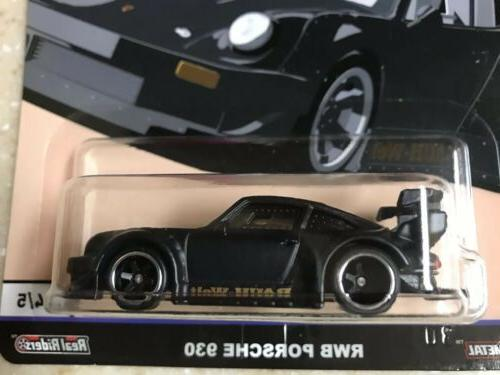 HOT WHEELS CULTURE SILHOUETTES PORSCHE 930 REAL RIDERS