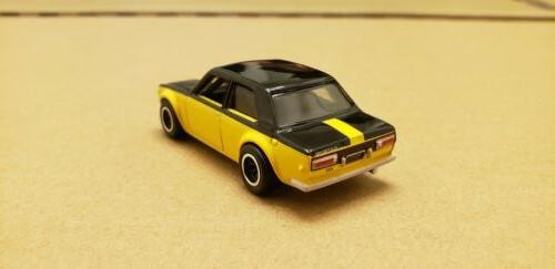 Hot Wheels Case Bluebird 510