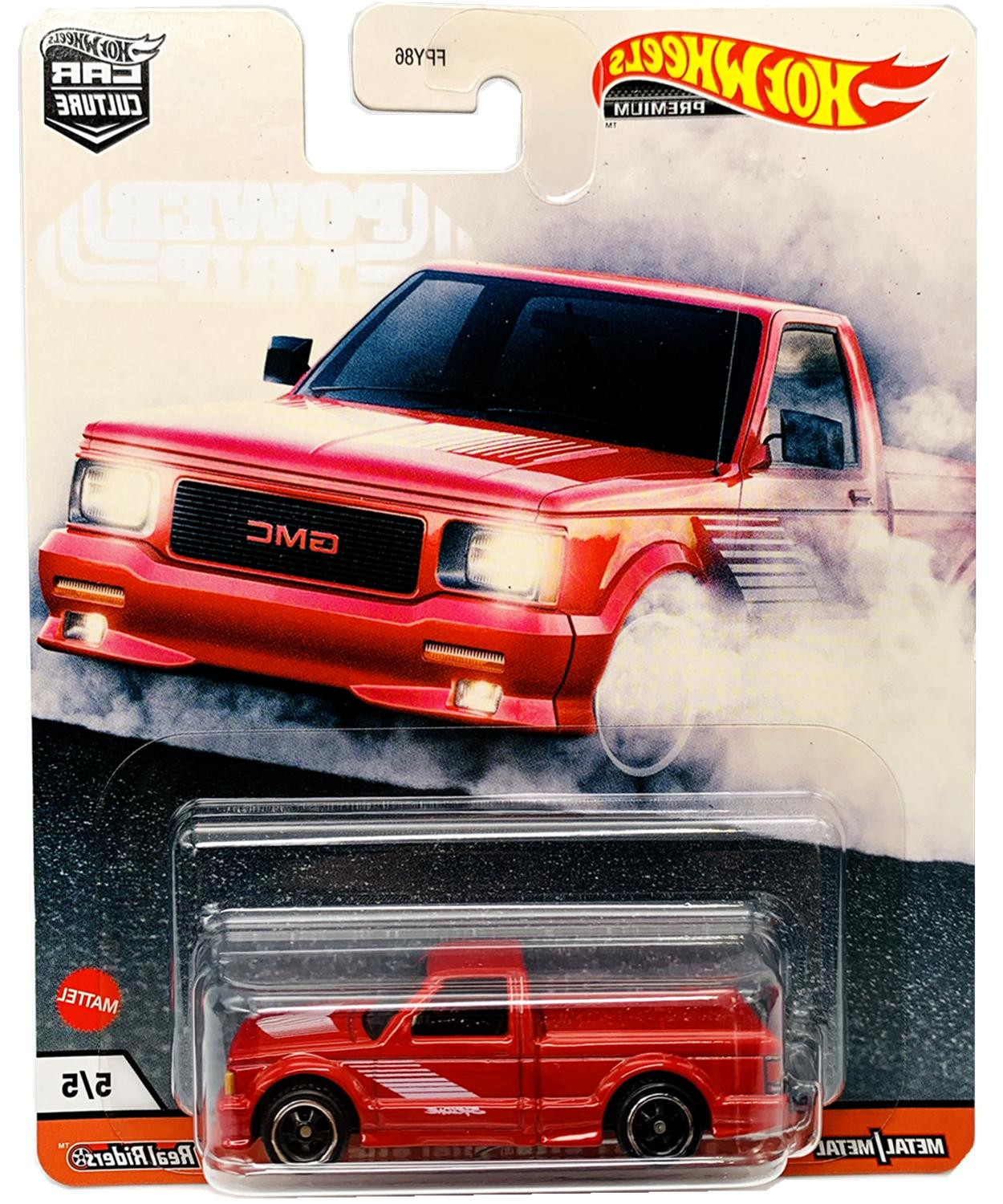 2020 Wheels Culture Power Case 5 Cars【IN-STOCK】