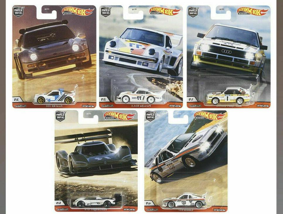 2020 hill climbers set of 5 cars