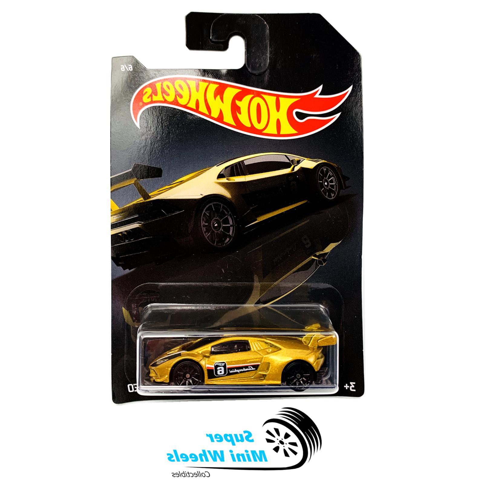 Lot of 2 Hot Wheels Gold LAMBORGHINI LP620-2 & Bentley Conti