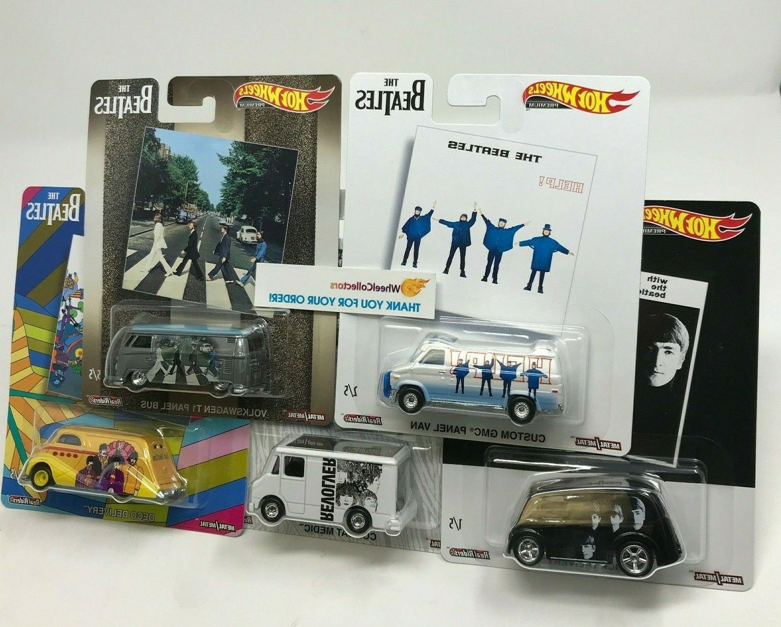 5 car set the beatles new 2019