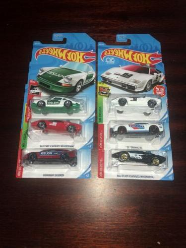 6 police emergency vehicles new free shipping