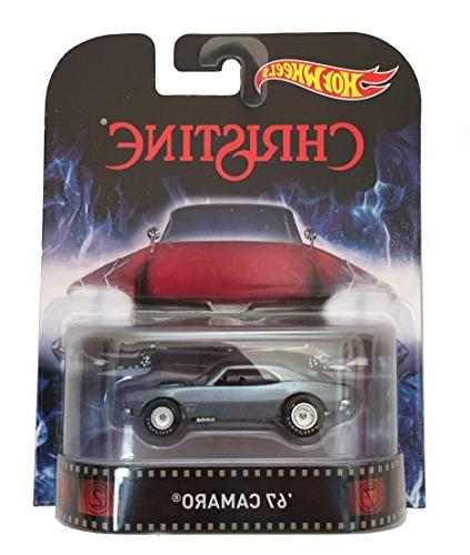 "'67 Camaro ""Christine"" Hot Wheels 2015 Retro Series 1/64 Die"