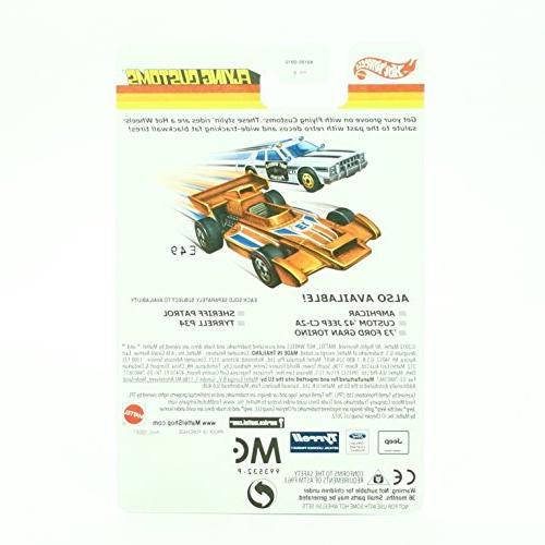 Flying Customs '73 GRAN TORINO Release of the 1974 Series - 1:64 Scale Throw HOT WHEELS