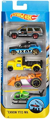 Hot Wheels 5 Gift