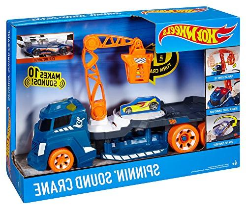 Hot Wheels and Sounds Crane