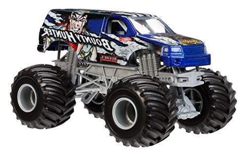 Hot Wheels Monster Jam Bounty Hunter Die-Cast Vehicle, 1:24