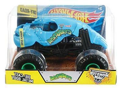 Hot Wheels Monster Jam Crushstation Die-Cast Vehicle 1:24 Sc