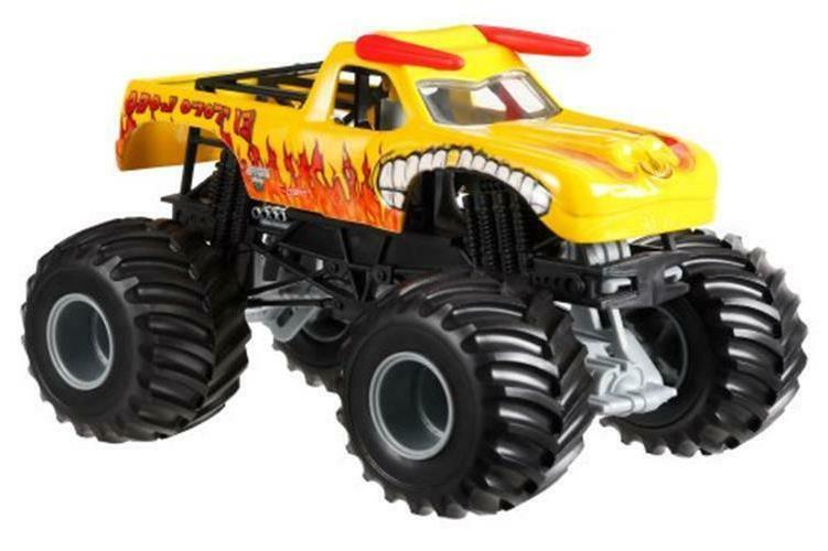 Hot Wheels Monster Jam El Toro Loco Yellow Die-Cast Vehicle,