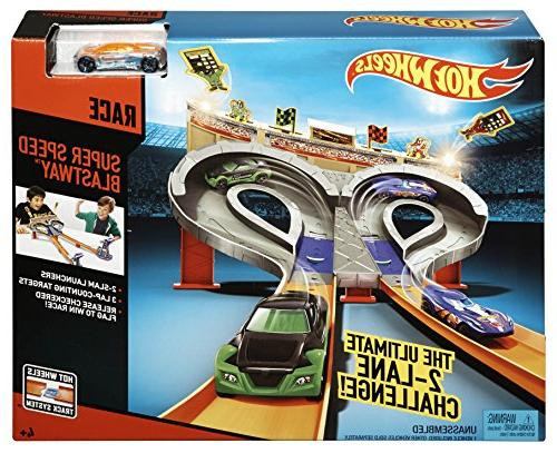 Hot Wheels Blastway Track Set