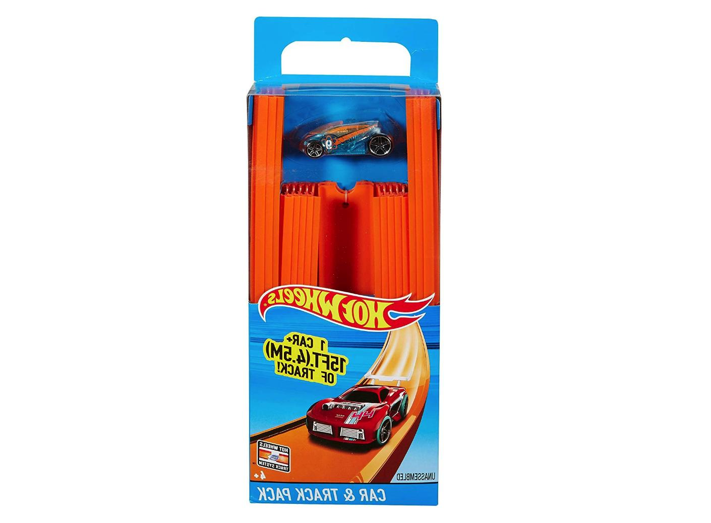 Hot Wheels, Track Builder, Straight Track Includes 15 Feet .
