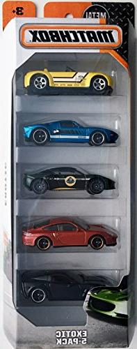 Matchbox 2016 Exotic 5-Pack