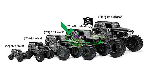 New Bright Monster Grave Digger RC