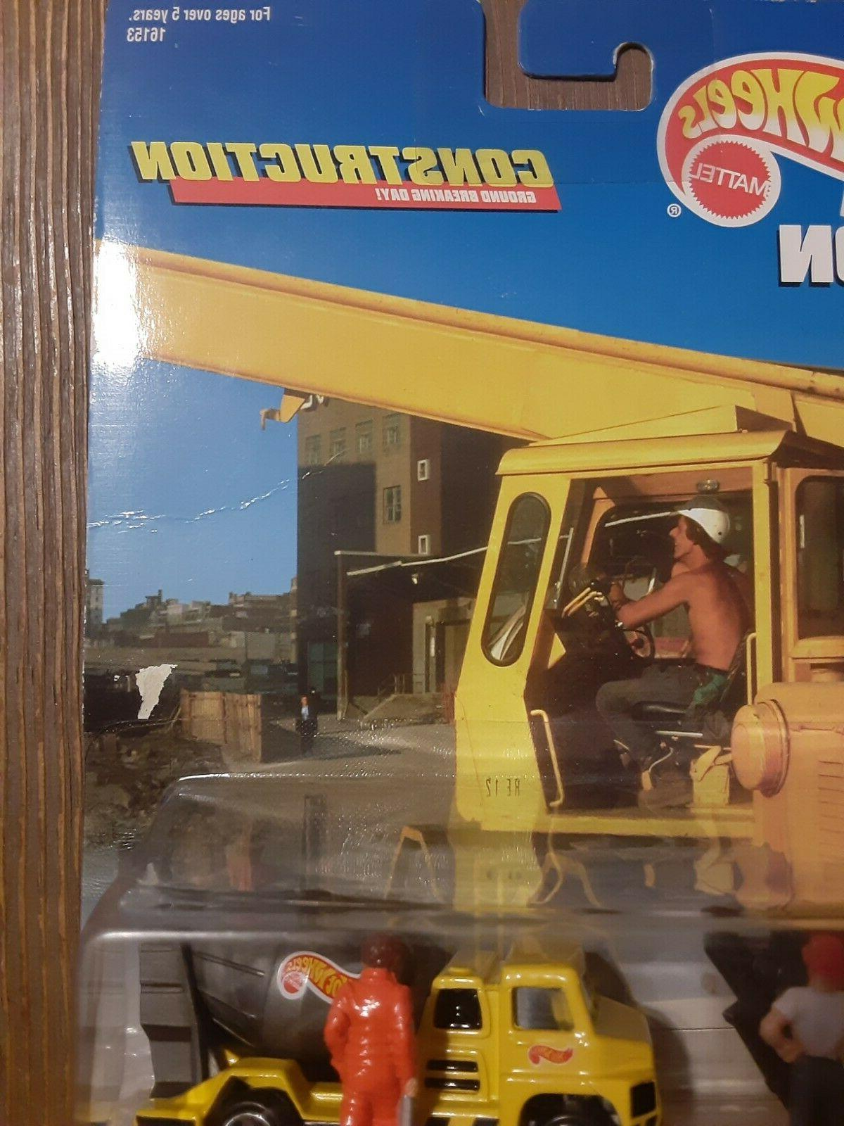 Hot Wheels Action Pack Construction 16153