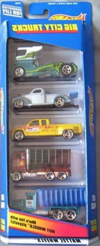 Hot Wheels Big City Trucks Gift Pack Five 5