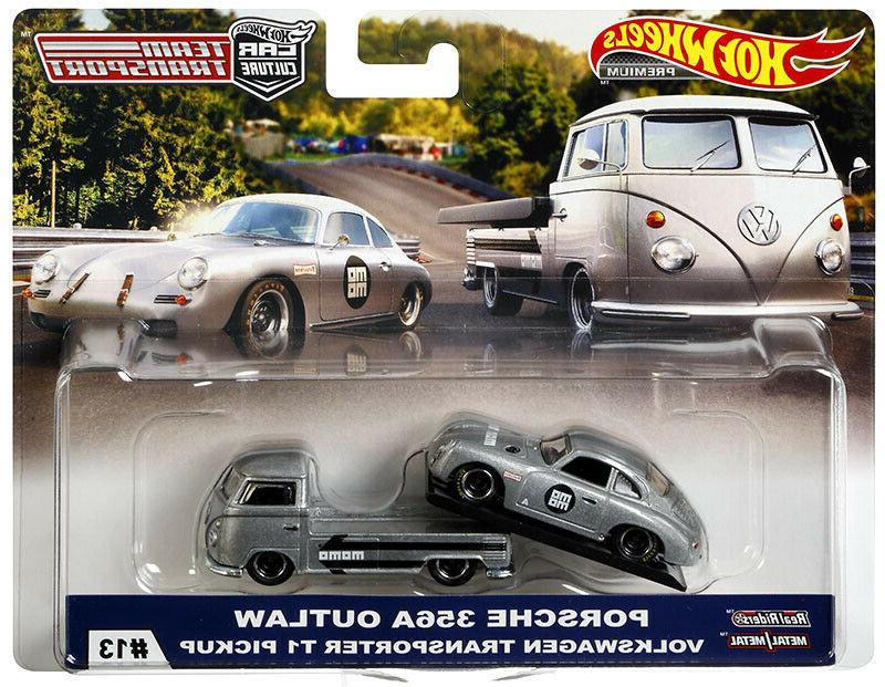 HOT WHEELS CAR CULTURE 2019 TEAM TRANSPORT PORSCHE OUTLAW
