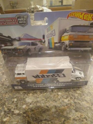 Hot Wheels Car Team Transport Nissan Laurel