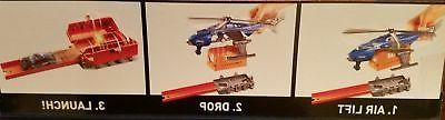 Hot City Super S.W.A.T. Copter Playset with Vehicle Car Included NEW