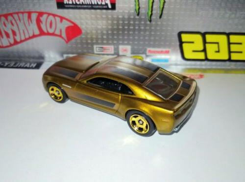 Hot Wheels CHEVY Gold LOOSE