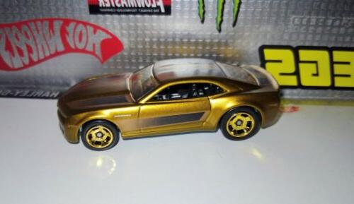 Hot Wheels COOL CHEVY CAMARO Gold LOOSE