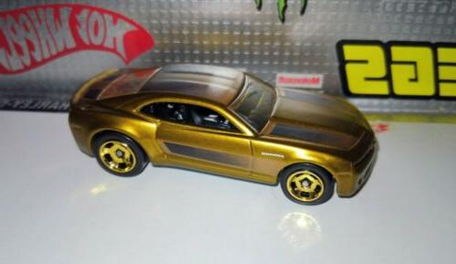 cool classics chevy camaro concept spectraflame gold
