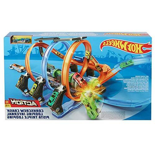 Hot Wheels Crash Track Set